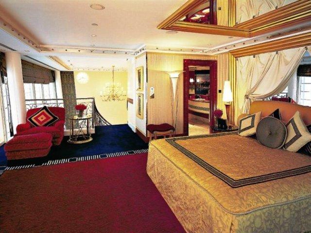 Burj Al Arab Luxushotel Dubai Reise Cafe