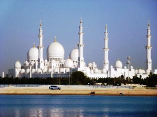Abu Dhabi - Grosse Moschee