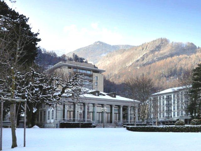 Grand Resort Bad Ragaz Schweiz Reise Cafe