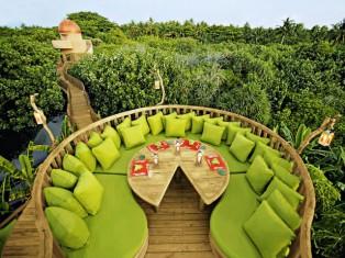 Soneva Fushi - Luxus Robinson Crusoe Hotel, Baa Atoll, Malediven