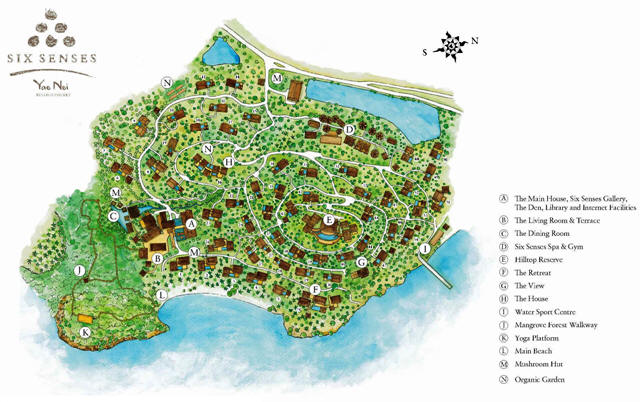 Six senses yao noi pkuket thailand reise cafe for Designhotel yoga