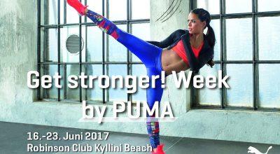 Get stronger Week! by PUMA im ROBINSON Club Kyllini Beach - PUMA Sportwoche